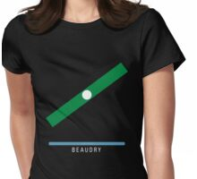 Station Beaudry Womens Fitted T-Shirt