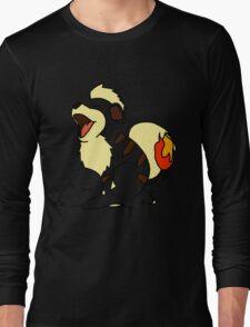 Growlithe Use Tackle! Long Sleeve T-Shirt