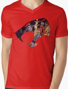 Feel The Magic Hear The Roar Mens V-Neck T-Shirt