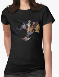 Feel The Magic Hear The Roar Womens Fitted T-Shirt