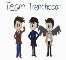 Team Trenchcoat (superwholock) by wonton-chan
