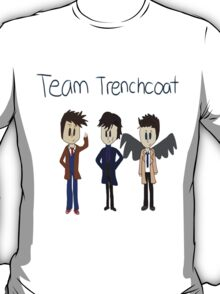 Team Trenchcoat (superwholock) T-Shirt