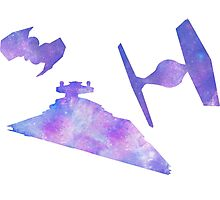 Star Wars Empire Ships Space design Photographic Print