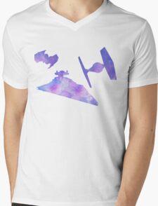 Star Wars Empire Ships Space design Mens V-Neck T-Shirt