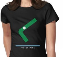 Station Préfontaine Womens Fitted T-Shirt