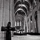 Welcome to Grace - Grace Cathedral - San Francisco - USA by Norman Repacholi
