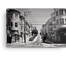 Cnr. Hyde and Washington. San Franscisco - USA Metal Print