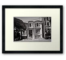 Walk on by - San Francisco - USA Framed Print
