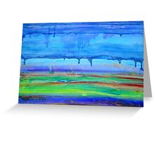Landscape Layers Greeting Card