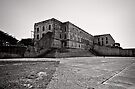 Within these walls  - Alcatraz, San Francisco by Norman Repacholi