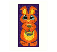 The Easter Bunny is here! Art Print