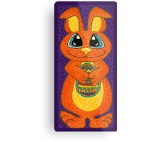 The Easter Bunny is here! Metal Print