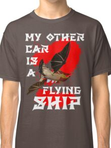 My Other Car is a Flying Ship (Black) Classic T-Shirt