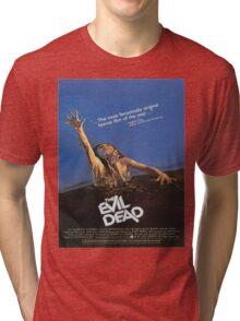 The Evil Dead Movie Poster Tri-blend T-Shirt