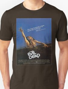 The Evil Dead Movie Poster T-Shirt
