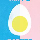 Rusky Easter Card - Blue & Pink by rperrydesign