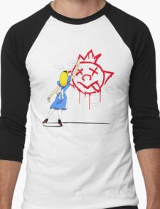 Alice Graffiti Men's Baseball ¾ T-Shirt