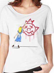 Alice Graffiti Women's Relaxed Fit T-Shirt