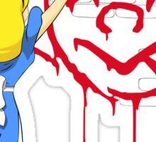 Alice Graffiti Sticker