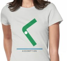 Station Assomption Womens Fitted T-Shirt