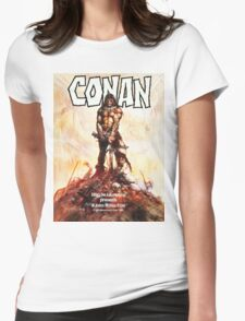 Conan Movie Poster Womens Fitted T-Shirt