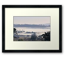 Where's Burra  ???   Rural NSW Australia Framed Print