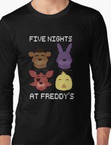 Five Nights At Freddy's GANG Long Sleeve T-Shirt