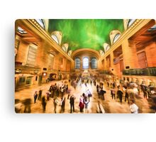 Grand Central Rush     (GO2) Canvas Print