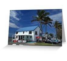 The Lighthouse Bar Cafe And Restaurant Greeting Card