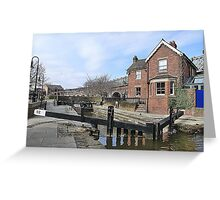 Lockkeepers Cottage. Greeting Card