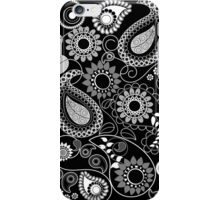 Paisly Patterns with Flowers, leaves & Circles iPhone Case/Skin