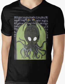 Ia! Ia! Cthulhu Fthagn! Mens V-Neck T-Shirt