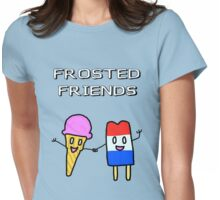 Frosted Friends Womens Fitted T-Shirt