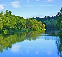 A Bend in the River by John Butler