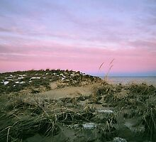 Plum Island, Sunset #2, January 2013 by jenjohnson1968
