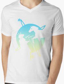 The Battle For Greendalia Mens V-Neck T-Shirt