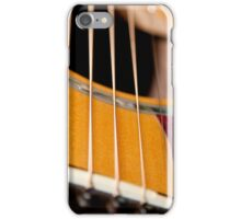 Guitar Strings iPhone Case/Skin