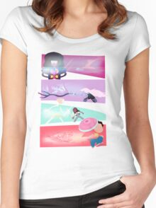 Garnet, Amethyst, and Pearl, and Steven! Women's Fitted Scoop T-Shirt