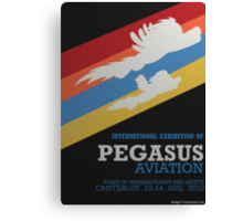Pegasus Aviation Exhibition Canvas Print