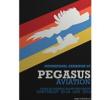 Pegasus Aviation Exhibition Photographic Print