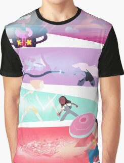 Garnet, Amethyst, and Pearl, and Steven! Graphic T-Shirt