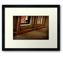 Hampton Court Palace Window Framed Print