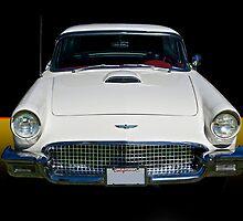 1957 Ford Thunderbird by DaveKoontz