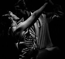 Argentine Tango in Argentina - in monochrome by photograham