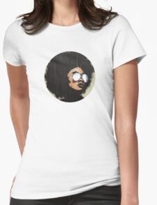 Venus Afro Womens Fitted T-Shirt