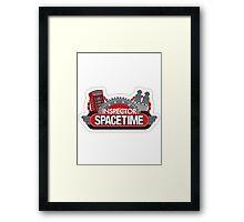 Inspector Space Time Framed Print