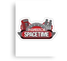 Inspector Space Time Canvas Print