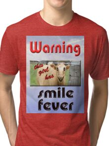 SMILE FEVER Tri-blend T-Shirt