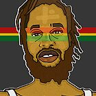 JAH CALLING: RASTA STRIPS by SOL  SKETCHES™