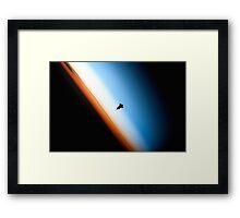 Space Shuttle Landing Framed Print
